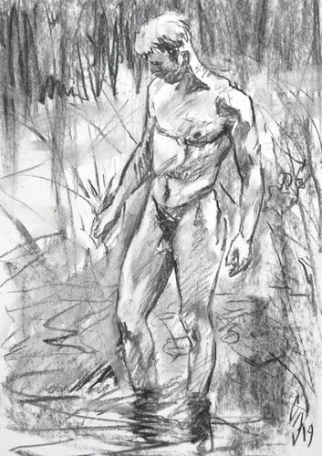 Sergey Sovkov, 19136GR-CO, Male Nude 45